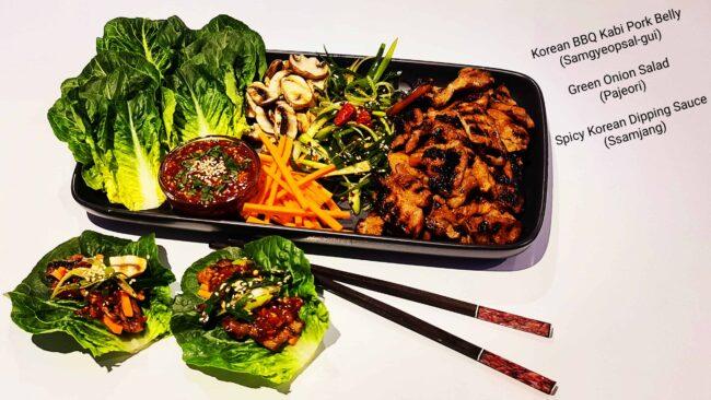 KOREAN BBQ KABI PORK