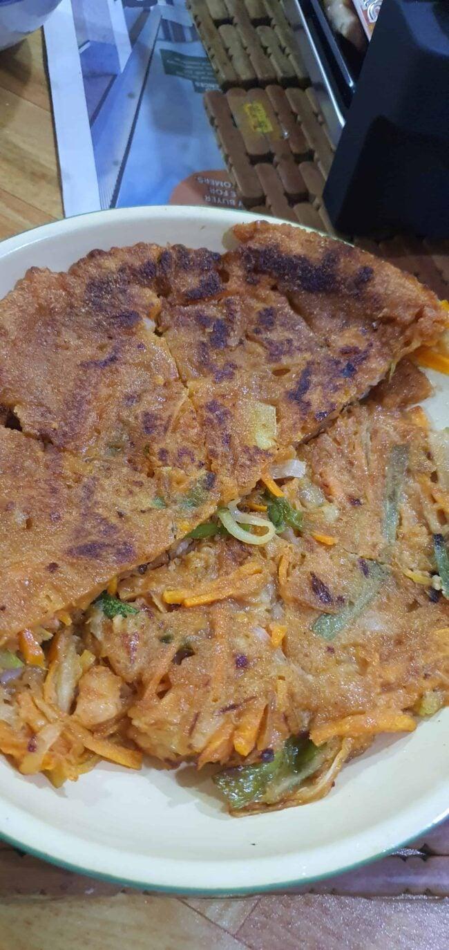 Yachaejeon (Vegetable pancake)