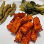 korean fried tofu