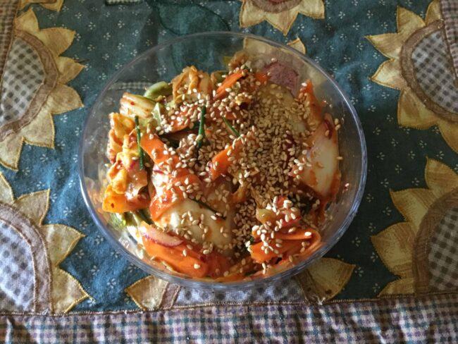 Small batch fresh kimchi