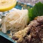 Pan-cooked beef salad (Sogogi chapssal-gui: 소고기 찹쌀구이)