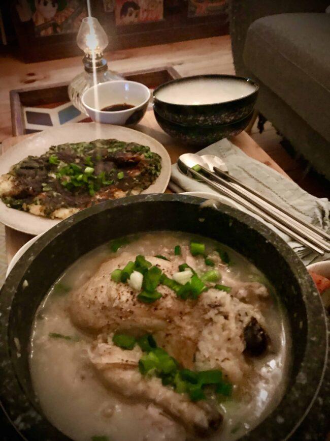 Samgyetang lockdown dinner