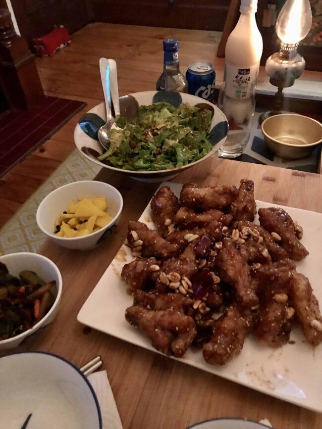 Covid Lockdown Comfort Dinner
