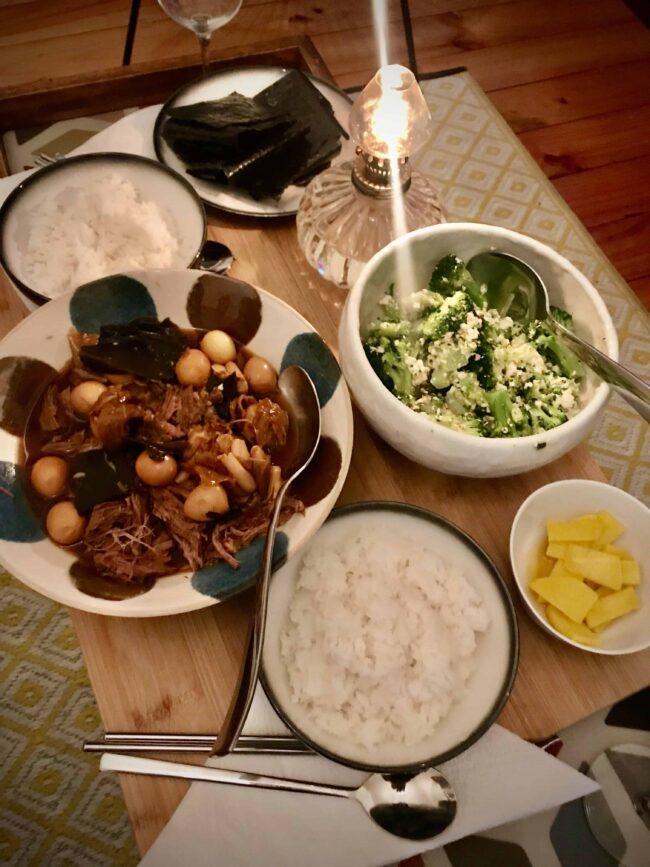 Kdrama inspired dinner